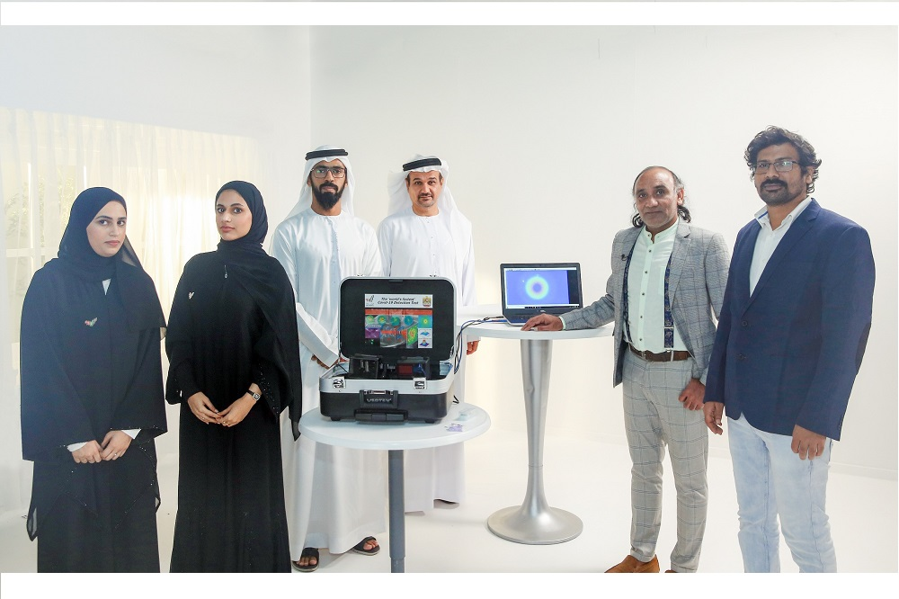 UAE develops a Rapid Coronavirus laser testing technology