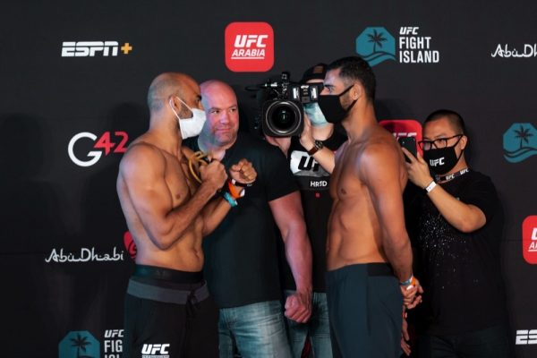 UFC Stars Eager to Put on a 'Great Show'