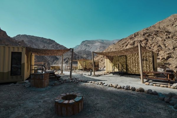 WORLD'S FIRST BEAR GRYLLS EXPLORERS CAMP LODGING