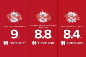 Baron Hotels & Resorts Egypt received the Loved by Guests Award 2020