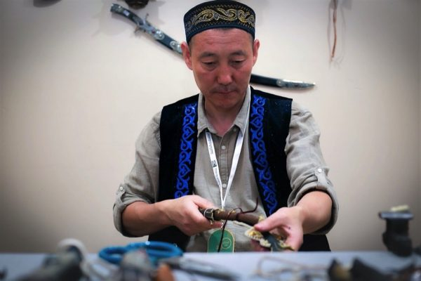 Kazakhstan's stunning weapons tradition harks back