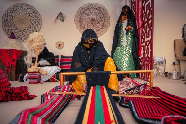 Al Sadu, a pinnacle of Emirati creativity,