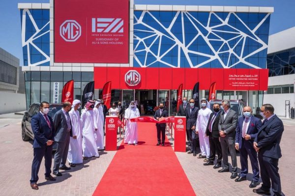 MG Motor and Inter Emirates Motors open three brand