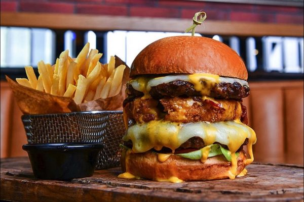 TGI Fridays Launches their Big AF Burgers