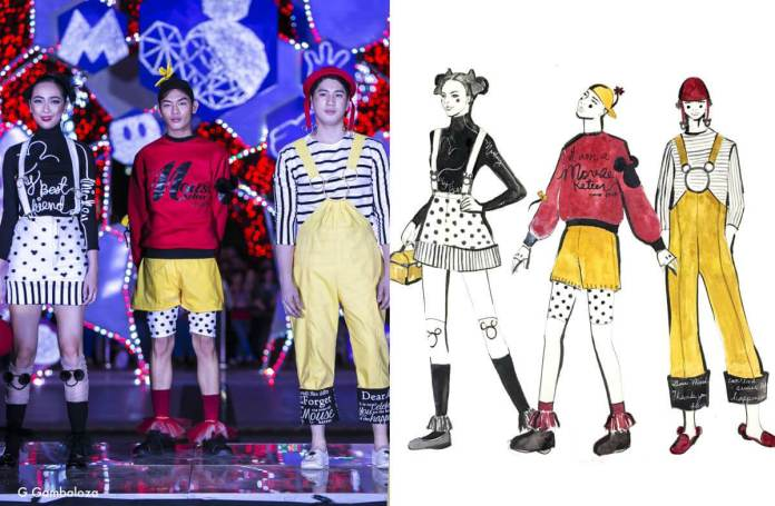 G Gambaloza Fashion Designers Celebrate 90 years of Mickey Mouse