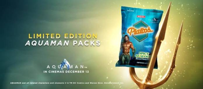 Piattos Limited Edition Aquaman