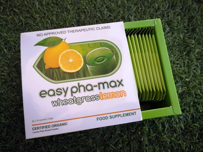 Easy Pha-Max Wheatgrass Lemon