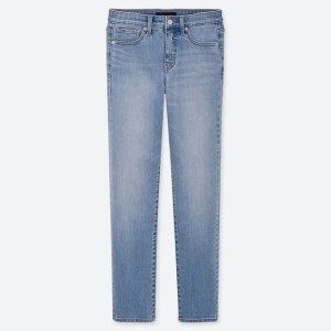 UNIQLO Women's High Rise Skinny Ankle Jeans (Beauty Compression)