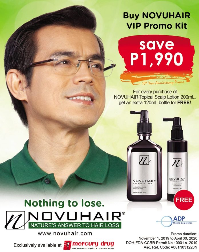 Mayor Isko Goes Green Novuhair