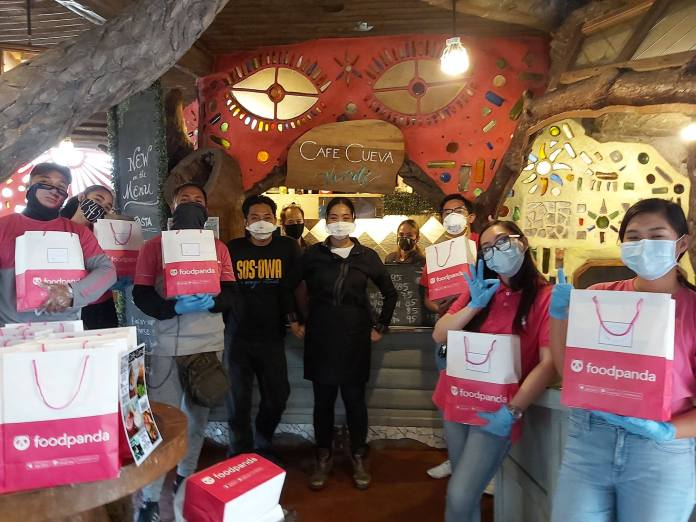 Foodpanda gives back to frontline healthcare workers