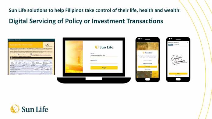 Sun Life - Digital Servicing of Policy or Investment Transactions