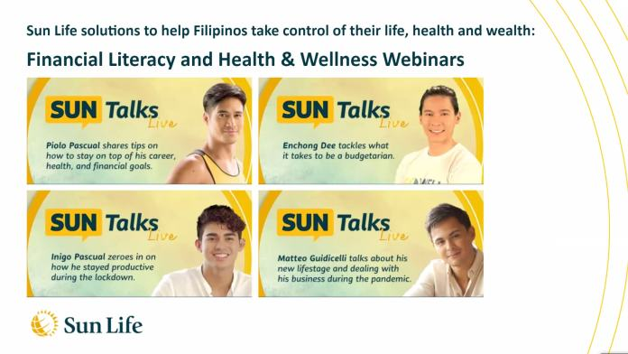 Sun Life - Find out how our celebrity ambassadors are coping, and the lessons they have learned.
