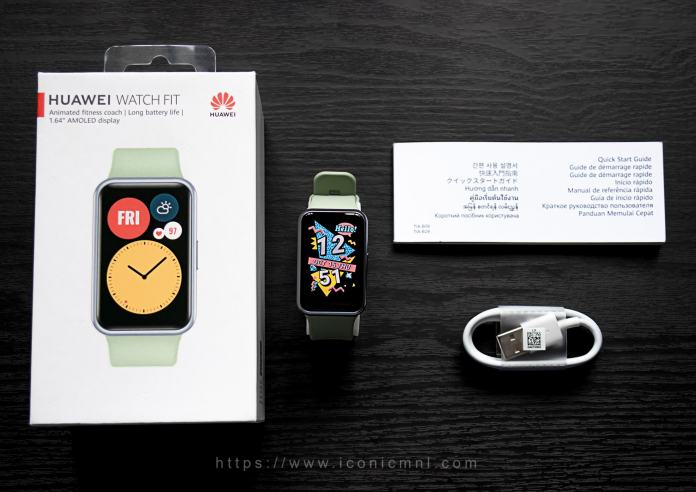 Huawei Watch Fit - Unboxing