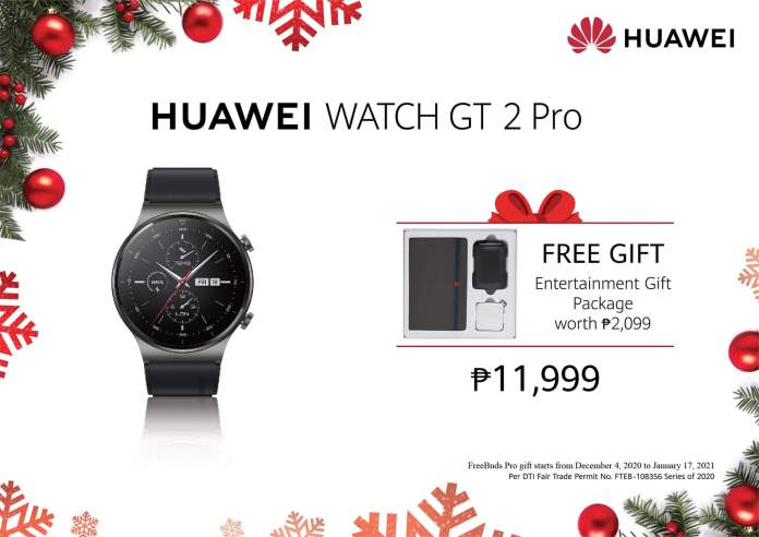 Watch GT 2 Pro Christmas Promos
