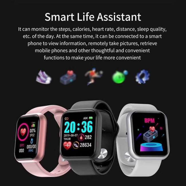 SANDA Fitness Tracker Smart Watch