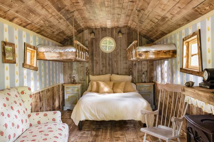 Guests can take a smallish nap or two ina house fit for Disney's Winnie the Pooh