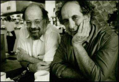 Peter Hale, Allen Ginsberg e Robert Frank, 1986