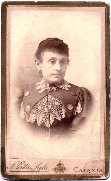 Carmela Nicosia. 1905