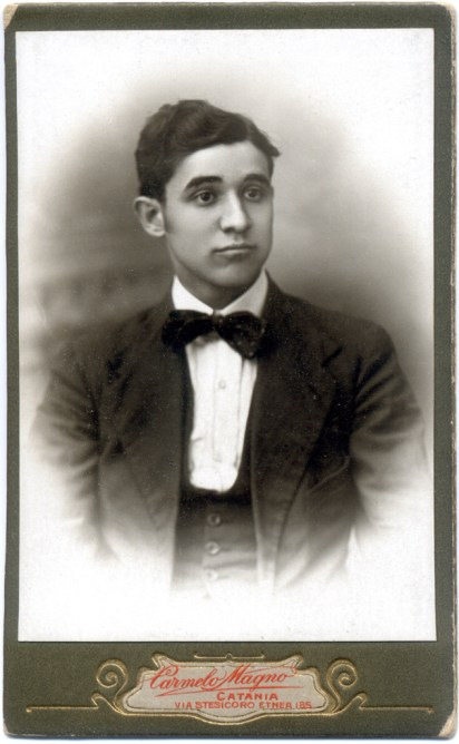 Salvatore Alonzo. 1918