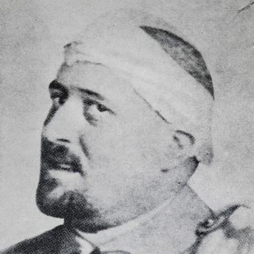 Guillaume Apollinaire ferito alla testa, 1918