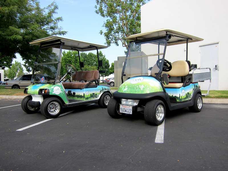Custom Golf Cart Designs For Espn By Iconography