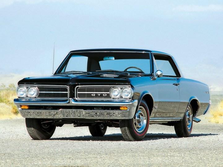 Con él empezó todo, Pontiac GTO de 1964
