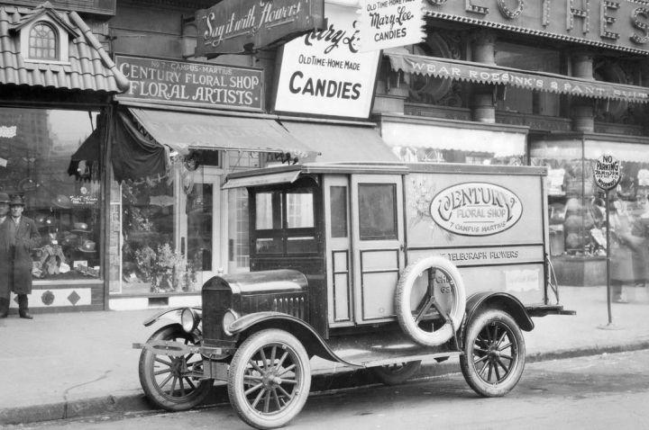 Ford T, camioneta de reparto (1924)