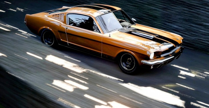 Iconos Muscle Cars y Pony Cars Mustang