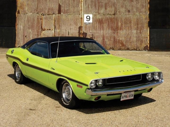 Muscle Cars y Pony Cars: Uno de los últimos en llegar, el Dodge Challenger
