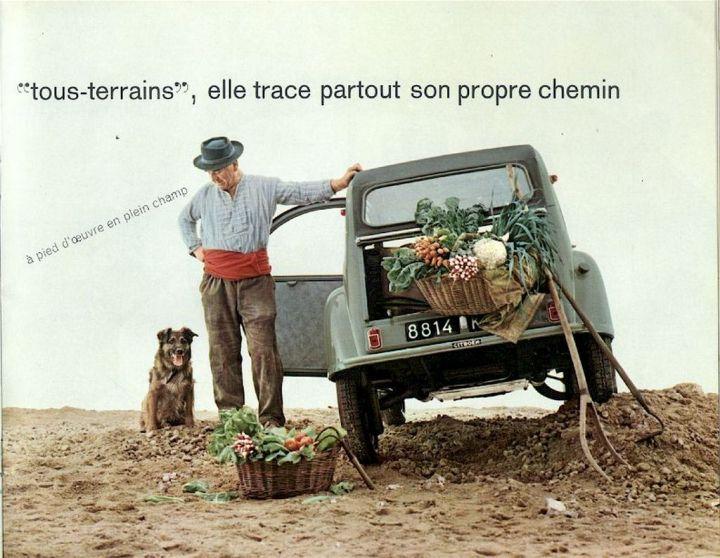 Publicidad del Citroën 2CV | Citroën