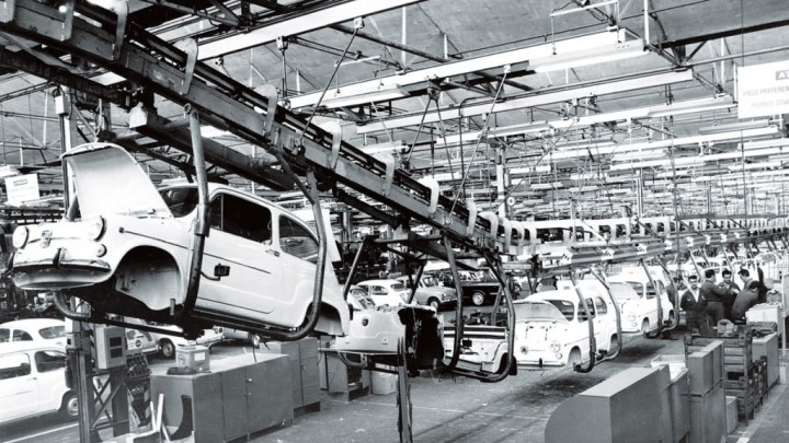 Seat 600 fábrica