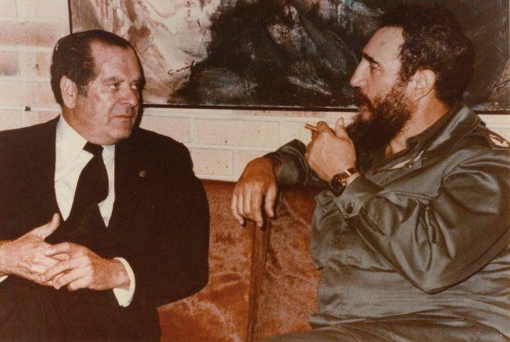 Barreiros con Fidel Castro
