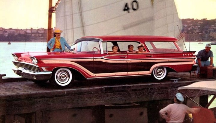 Mercury Colony Park Station Wagon (1957) | Ford