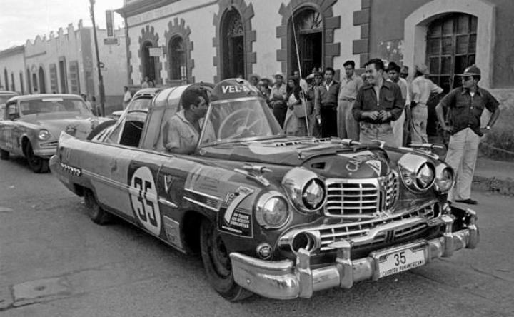 Panamericana: Un bicho extraño... Lincoln-Cadillac 'Ham Special' (1953)