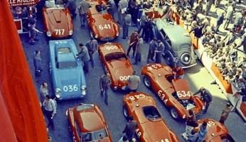 Mille Miglia: Piazza della Vittoria, Brescia, 1955  Yves Debraine The Klemantaski Collection