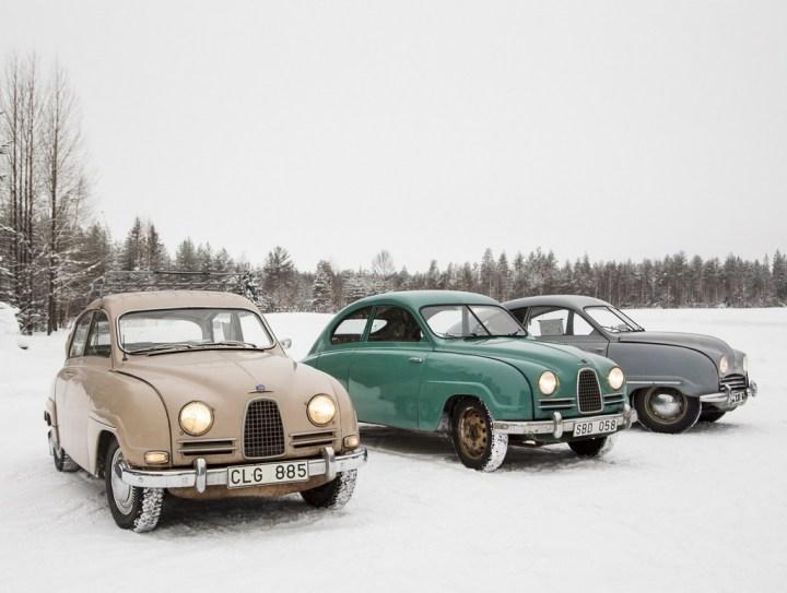 Saab 96, 93 y 92   Teknikens Värld / Andreas Libell