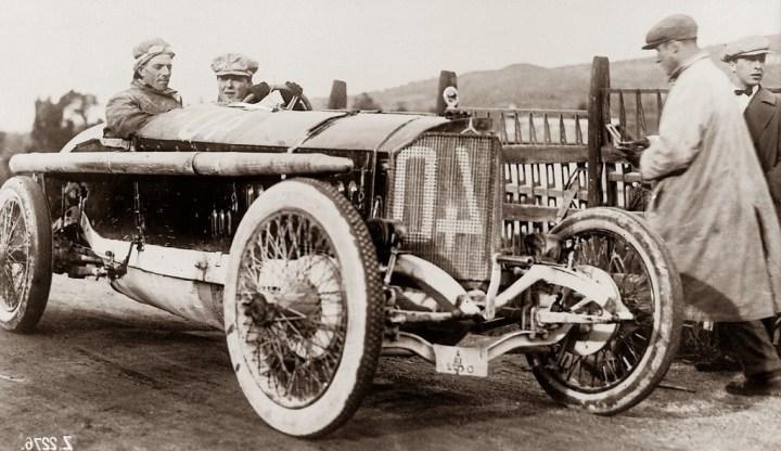 Mercedes 115 HP, ganador de la Targa Florio en 1914