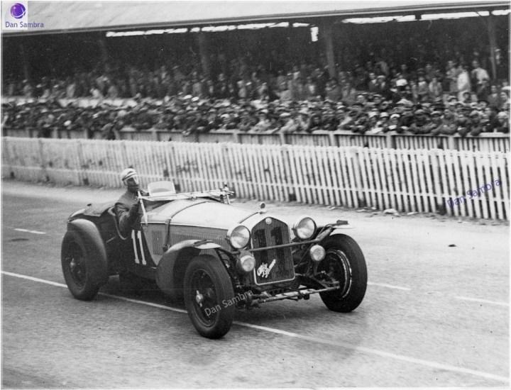 Las 24 Horas de Le Mans: Tazio Nuvolari a bordo de un Alfa Romeo 8C 2300