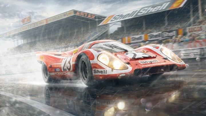 Las 24 Horas de Le Mans: El precioso e icónico Porsche 917 | Jan Rambousek