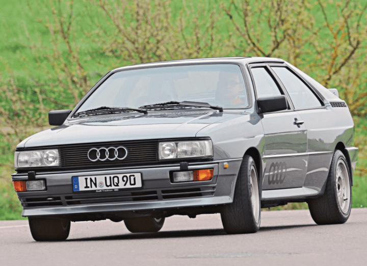 Top 10 Coches Clásicos Alemanes: Audi Quattro | Audi