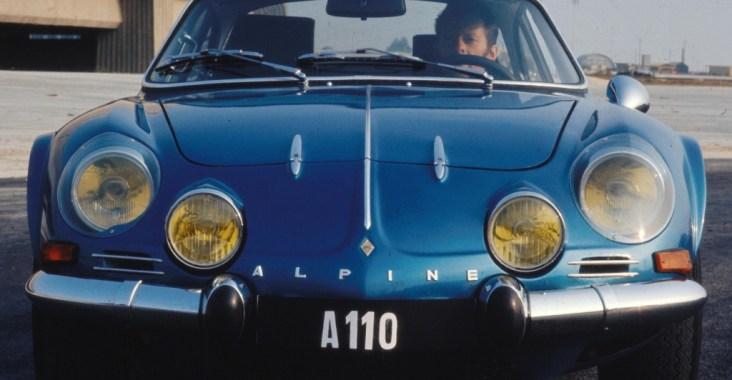 Coches clásicos franceses: Alpine A110
