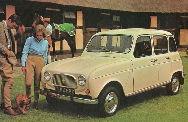 Coches clásicos franceses: Renault 4 | Renault