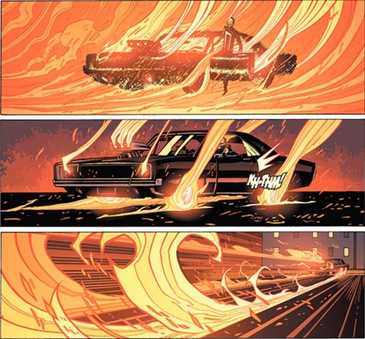 Coches y Comics: Ghist Rider | Clayton Crain y Garth Ennis