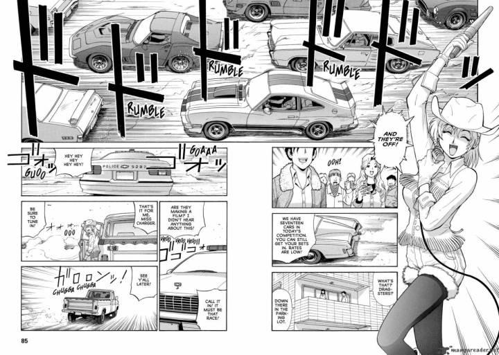 Coches y Comics: Gunsmith Cats   Ken'ichi Sonoda