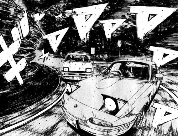Coches y Comics: Initial D   Shuichi Sigeno