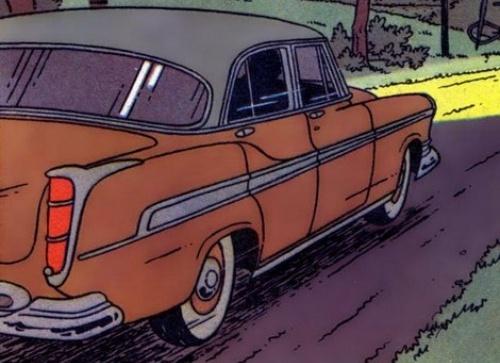 Tintin y los Coches |Studios Hergé