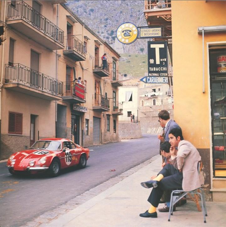Típico ambiente de Targa Florio...