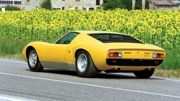 Coches clásicos italianos: Lamborghini Miura