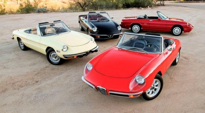 Coches clásicos italianos: Alfa Romeo Spider | Matthew Litwin & Jeff Koch