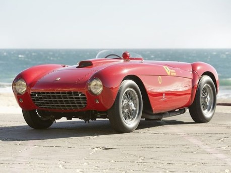 1954 Ferrari 500 Mondial Spider $4,455,000 (Gooding & Company)